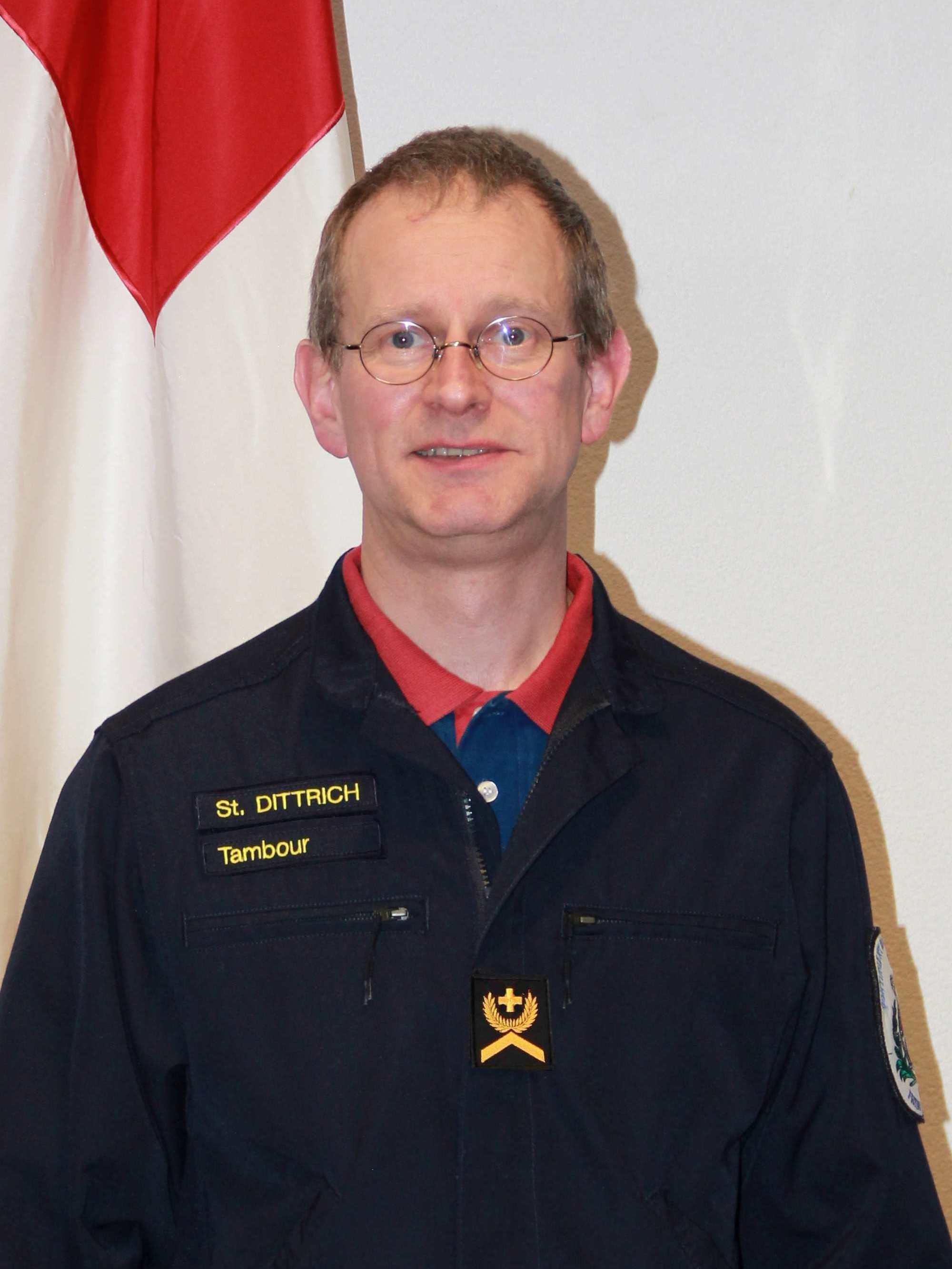 Sergent caviste Stéphane Dittrich