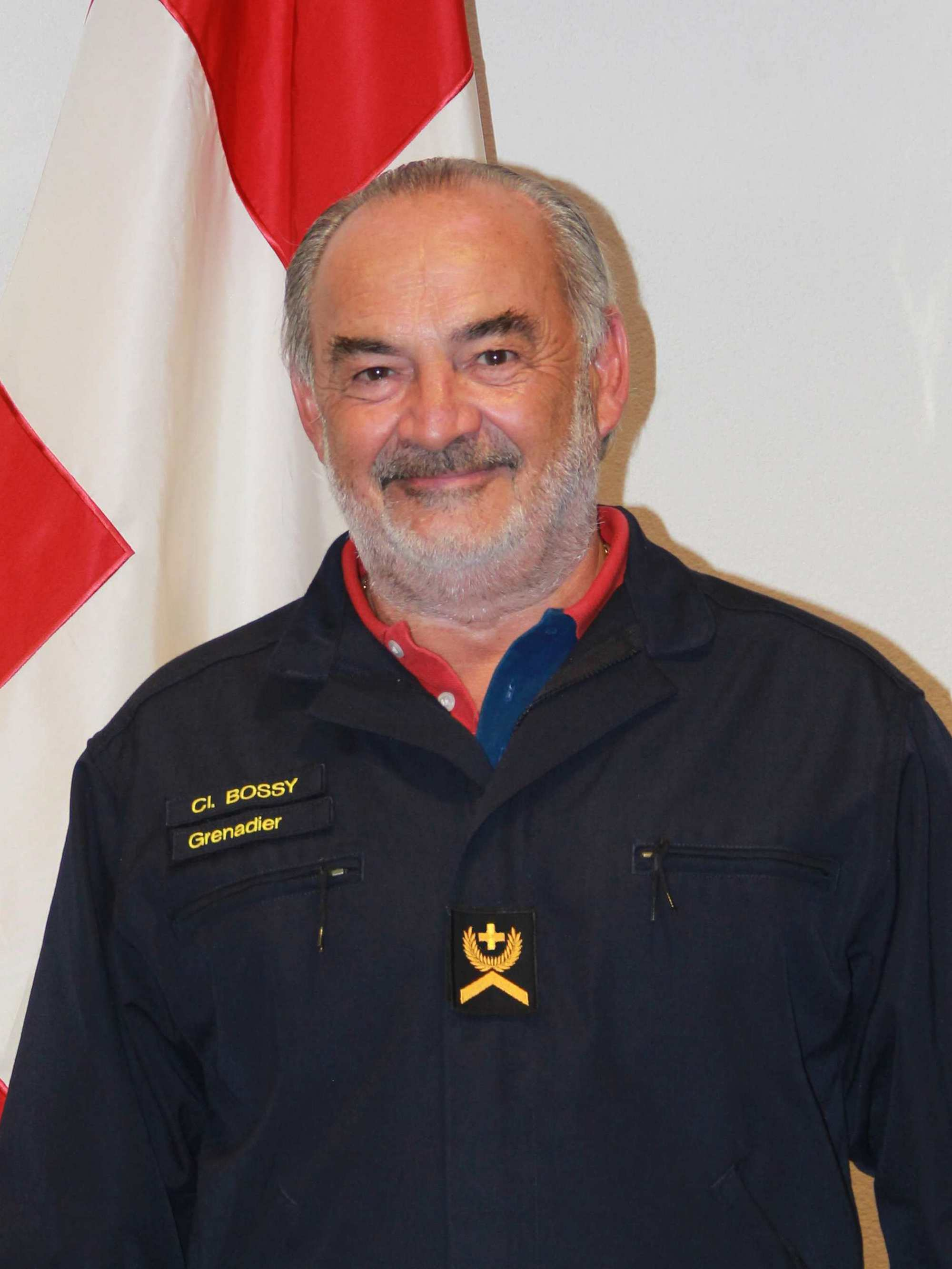 Le Sergent recruteur Claude Bossy